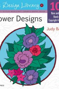 Design Library: Flower Designs (Dl04) af Judy Balchin