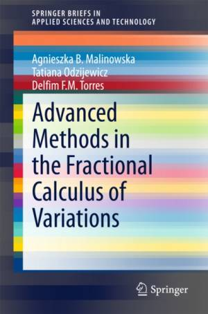Advanced Methods in the Fractional Calculus of Variations by Agnieszka B. Malinowska
